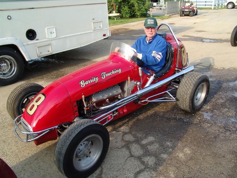 Dave Weir V8 60 midget